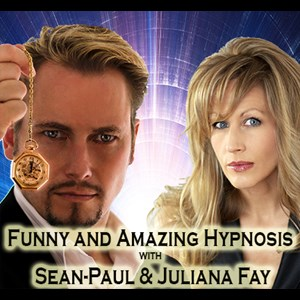 Saratoga Hypnotist | Comedy Stage Hypnotists - Sean-Paul & Juliane Fay