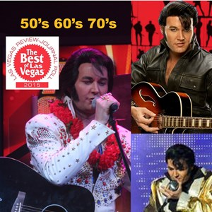 Holy City Elvis Impersonator | Travis Allen #1 Young Elvis In Las Vegas