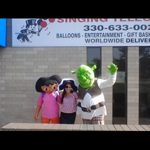 Columbus Princess Party | The International Singing Telegram Company