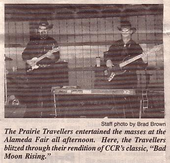 The Prairie Travellers | Halbrite, SK | Cover Band | Photo #8