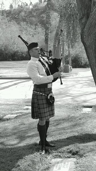 Benjamin Scott Johnston - Celtic Bagpiper - San Diego, CA
