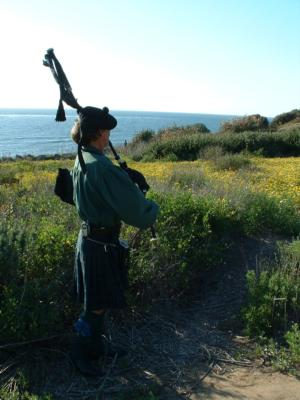 Robert Burns | San Diego, CA | Bagpipes | Photo #3