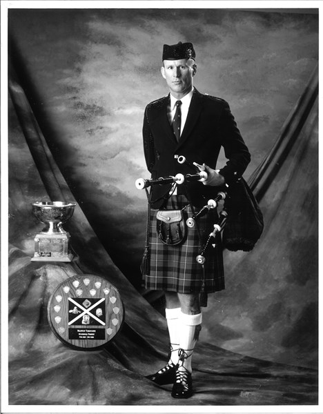 Seattle's Bagpiper Neil Hubbard