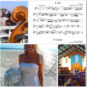 Camden Wyoming Chamber Music Trio | Grace Note Strings ~ Weddings, Beach & Church
