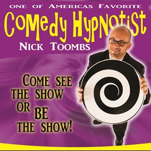Ethel Stage Hypnotist | Nick Toombs Comedy Hypnotist