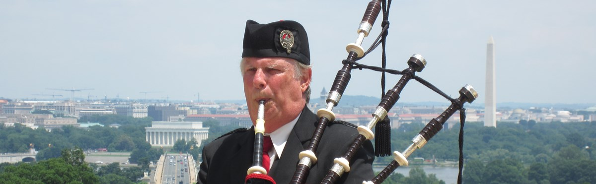 Pipe Major Bill Boetticher - Bagpiper