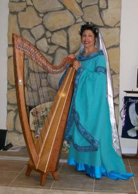 Joanna Mell | Corona, CA | Classical Harp | Photo #11