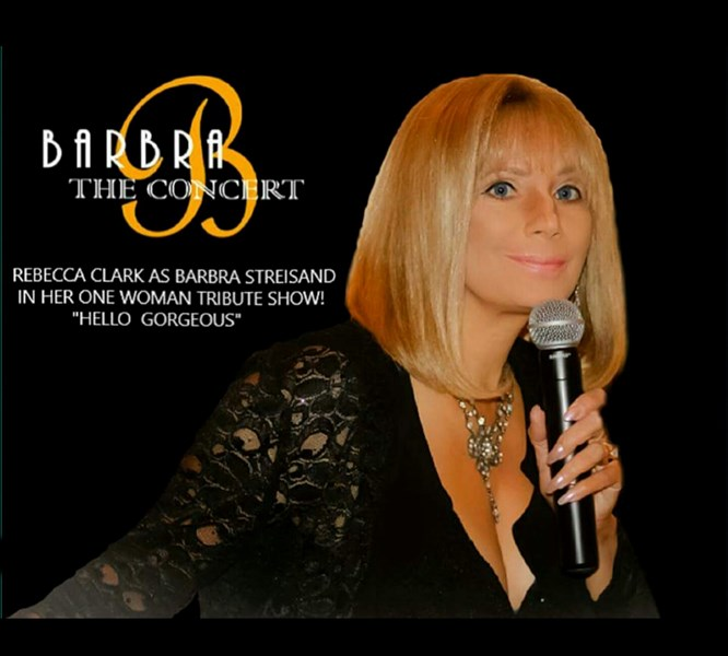 "Rebecca Clark  "" Is Hello Gorgeous "" - Barbra Streisand Impersonator - Huntington Beach, CA"