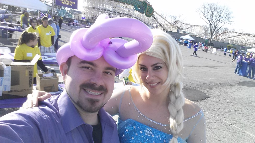 Balloon Twisiter & the Ice Princess