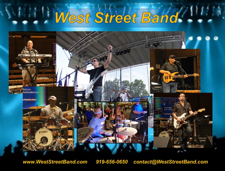 West Street Band - Cover Band - Cary, NC