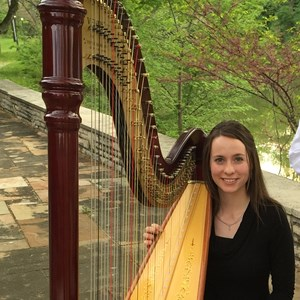 Walnut Creek Harpist | Lydia Haywood
