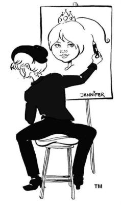 Caricatures by Jennifer West | Newport Beach, CA | Caricaturist | Photo #25