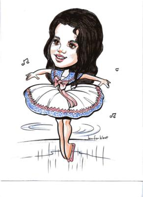 Caricatures by Jennifer West | Newport Beach, CA | Caricaturist | Photo #16