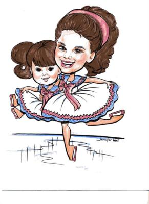 Caricatures by Jennifer West | Newport Beach, CA | Caricaturist | Photo #15
