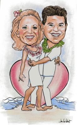 Caricatures by Jennifer West | Newport Beach, CA | Caricaturist | Photo #11