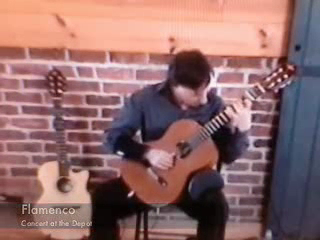 Julian C | Seattle, WA | Classical Guitar | Flamenco in concert at the Depot