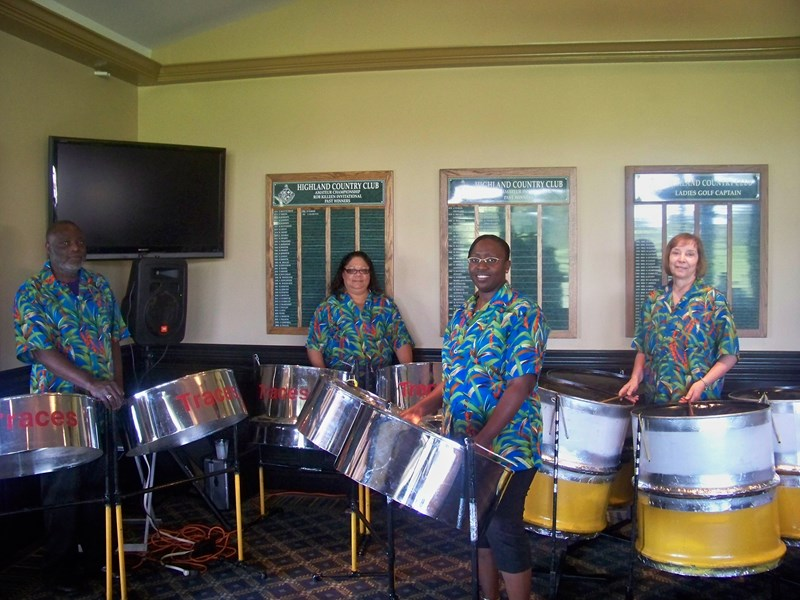 TRACES Vintage Steel Drum Band