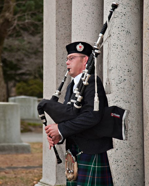 Matthew Phelps, Highland Bagpiper - Celtic Bagpiper - Waterbury, CT