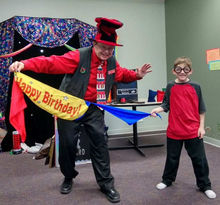 Fun Birthday Party Magic Show!
