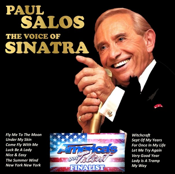 Salos Sings Sinatra The Man & His Music - Frank Sinatra Tribute Act - Dallas, TX