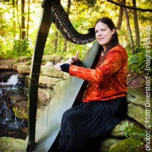 Cross Plains Harpist | Annette Bjorling