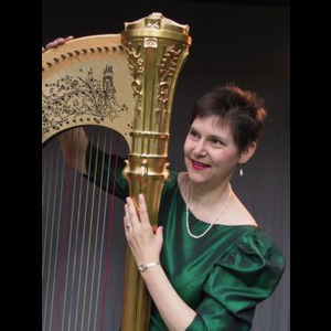 Capital One Harpist | Susan McLain- The Harpist With Greensleeves