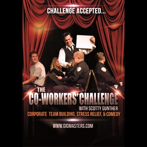 Detroit, MI Motivational Speaker | Co-Workers Challenge:team building/stress relief