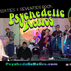 North Berwick Oldies Band | Psychedelic Relics