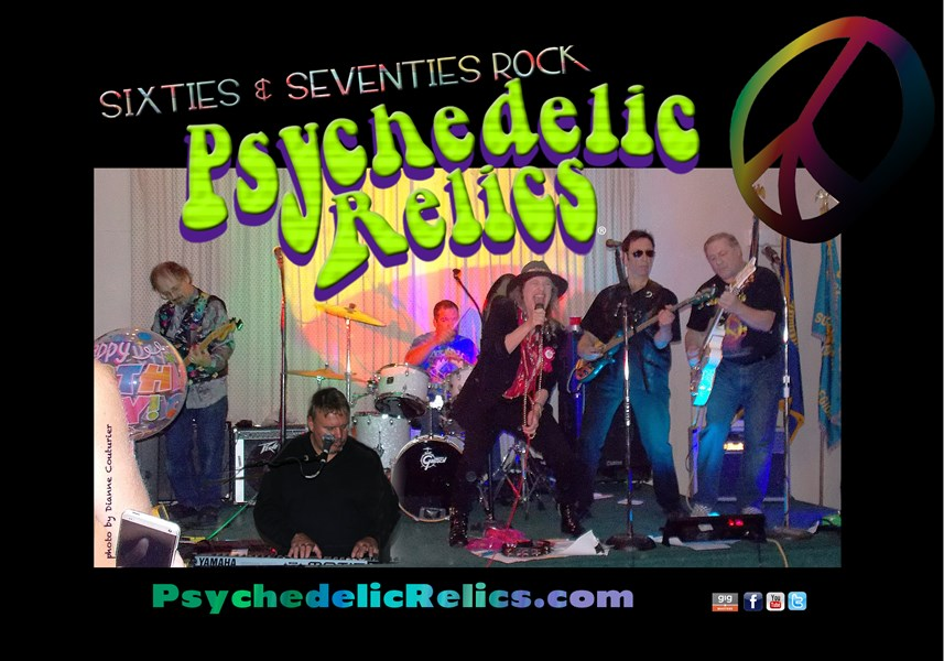Psychedelic Relics - Classic Rock Band - Salem, MA