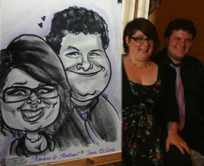 Caricatures By Emily Anthony | Coatesville, PA | Caricaturist | Photo #2