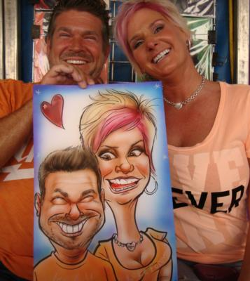 Caricatures By Emily Anthony | Coatesville, PA | Caricaturist | Photo #3