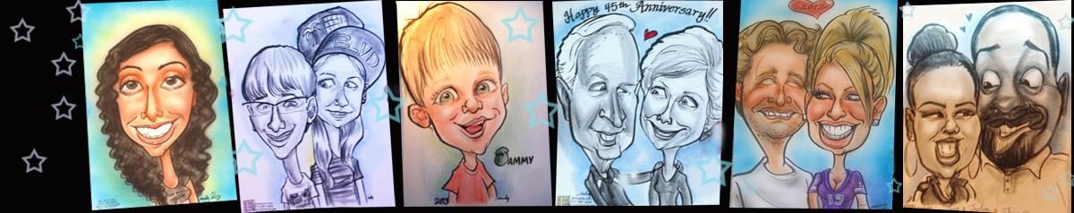 Caricatures By Emily Anthony