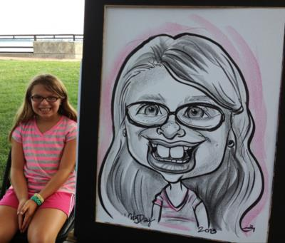 Caricatures By Emily Anthony | Coatesville, PA | Caricaturist | Photo #4