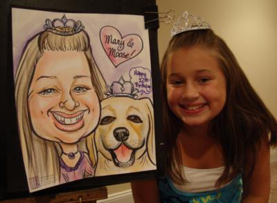 Caricatures By Emily Anthony | Coatesville, PA | Caricaturist | Photo #24