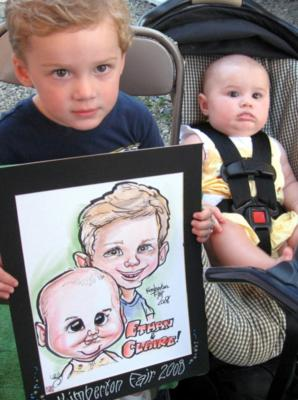 Caricatures By Emily Anthony | Coatesville, PA | Caricaturist | Photo #13
