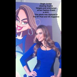Virginia Beach Caricaturist | Angie Jordan - LIVE Digital Caricatures