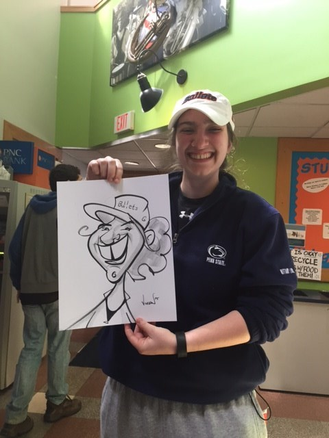 College Caricatures!