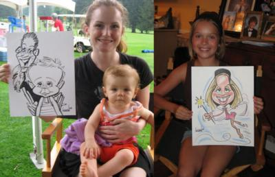Digital Caricatures LIVE - Angie Jordan | Mount Joy, PA | Caricaturist | Photo #7