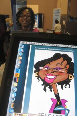 Digital Caricatures LIVE - Angie Jordan | Mount Joy, PA | Caricaturist | Photo #18