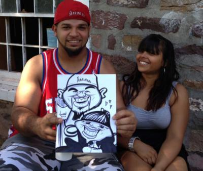 Digital Caricatures LIVE - Angie Jordan | Mount Joy, PA | Caricaturist | Photo #11