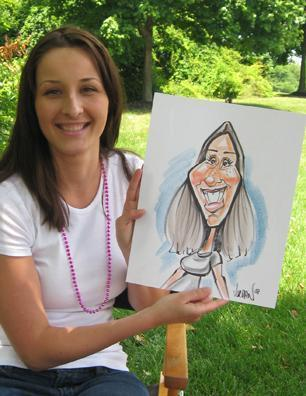 Digital Caricatures LIVE - Angie Jordan | Mount Joy, PA | Caricaturist | Photo #5