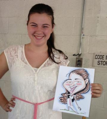 Digital Caricatures LIVE - Angie Jordan | Mount Joy, PA | Caricaturist | Photo #10