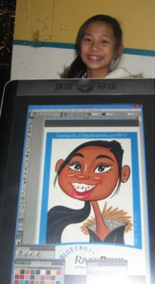 Digital Caricatures LIVE - Angie Jordan | Mount Joy, PA | Caricaturist | Photo #16