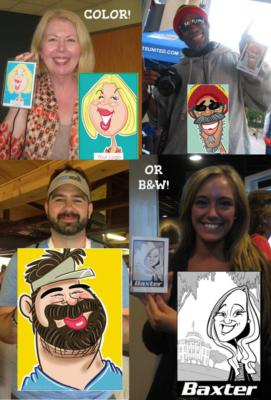 Digital Caricatures LIVE - Angie Jordan | Mount Joy, PA | Caricaturist | Photo #14