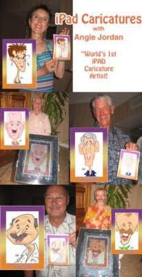 Digital Caricatures LIVE - Angie Jordan | Mount Joy, PA | Caricaturist | Photo #25