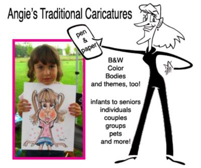Digital Caricatures LIVE - Angie Jordan | Mount Joy, PA | Caricaturist | Photo #4