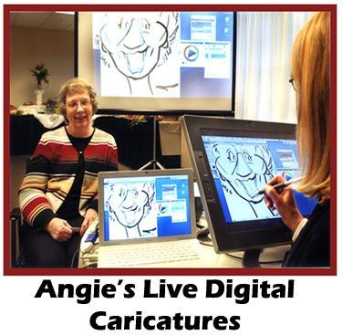 Digital Caricatures LIVE - Angie Jordan | Mount Joy, PA | Caricaturist | Photo #13