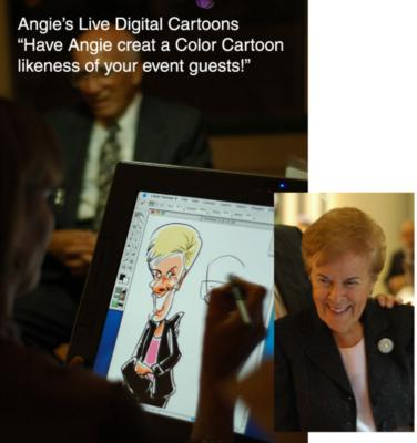 Digital Caricatures LIVE - Angie Jordan | Mount Joy, PA | Caricaturist | Photo #17