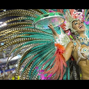 Santa Barbara Body Painter | Rio Brasil Samba Entertainment Group