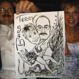 Awe Caricature Art - Events and Gifts - Caricaturist - Winnipeg, MB